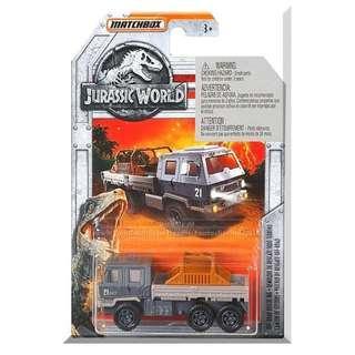 Jurassic World Matchbox Off-Road Rescue Rig 1:64 Diecast Vehicle