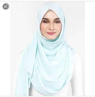 MSS dUCkscarf shawl in Ice Ice Baby