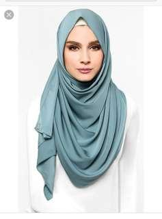MSS dUCkscarf shawl in Salt Water