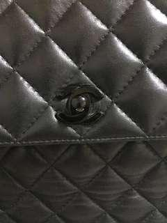 Chanel Vintage Lambskin Flap Handbag