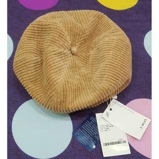 全新 有吊牌 貝雷帽 100%棉 7450-7009-71-F 建議售價520元 MADE IN KOREA 韓國製造