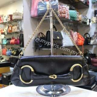 Gucci Hose Bit Chain Clutch Shoulder Bag