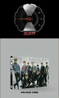 EXO Don't Mess Up My Tempo Limited Edition Vivace OT9 ver