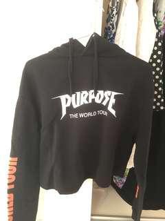Purpose World Tour Cropped Hoodie H&M