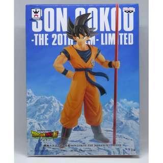 Banpresto Dragon Ball Super 龍珠超 Son Gokou The 20th Film Limited 20週年 劇場版