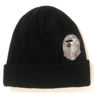BAPE APE HEAD SWAROVSKI KNIT CAP
