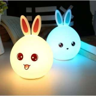 🚚 Cute Silicone Night Light (Rechargeable)