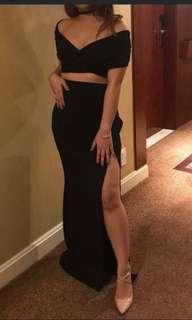 Black Sexy Top and Skirt