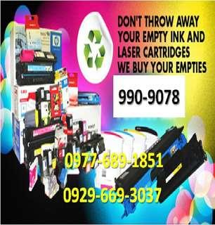 Highest Price We offer to you empty ink cartridges