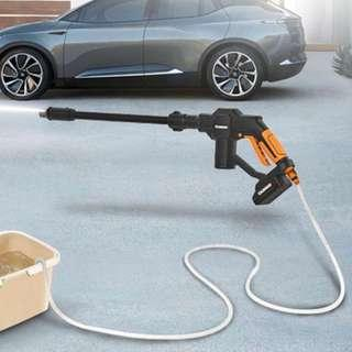Portable Cordless Pressure Cleaner Car Washer Hose Nozzle Water Outdoor
