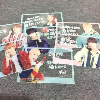 [RARE] OFFICIAL SEVENTEEN IDEAL CUT IN JAPAN TRADING CARDS | Rare Transparent