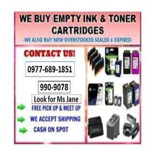 Trusted and Legit Buyer of Empty Ink Cartridges and Toners