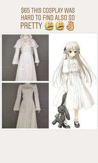 Yosuga no Sora cosplay costume / wig set