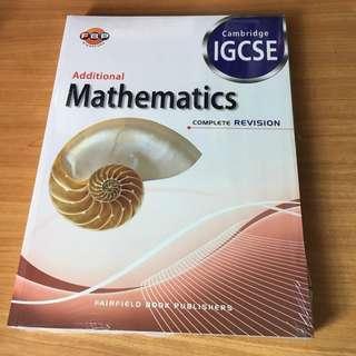 cambridge IGCSE addmaths textbook