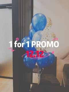 💥1 for 1 balloons promo💥