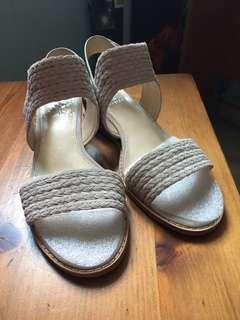 Vince Camuto Braided Tan Sandal