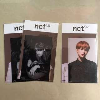 [instock] nct 127 regular-irregular photo + postcard set sum official goods