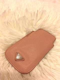 Prada iphone 5 leather case