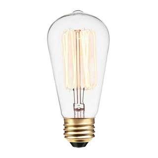 (E201) VINTAGE Light Blub 60 Watt (RY-060)