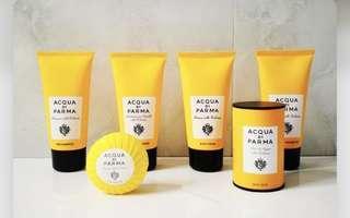 acqua di parma  洗髮精/ 沐浴乳/ 身體乳液/ 潤髮乳/ 旅行組