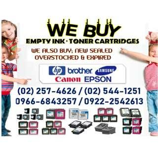 TRUSTED BUYER OF EMPTY INK AND TONER CARTRIDGES