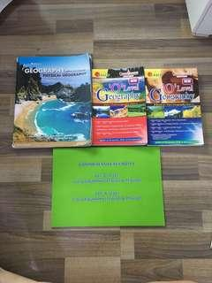 geography textbooks and guide books