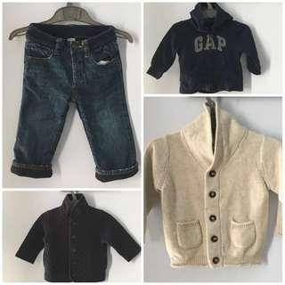 Authentic GAP Jacket & Pant for 12-18months