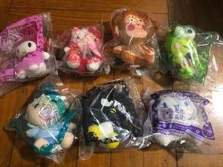 Hello kitty and her friends (8pcs)