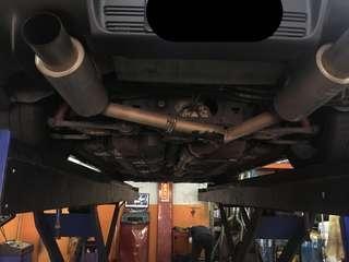 GReddy Trust PE II Exhaust for Evo X
