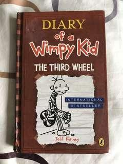 Diary of a Wimpy Kid : The Third Wheel by Jeff Kinney