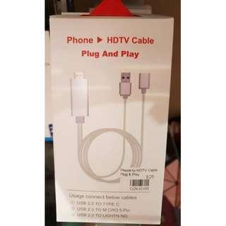 🚚 HDTV Plug and Play