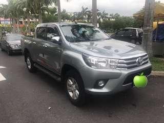 Toyota Hilux (G) 2.4CC Diesel Auto New 2018 5 Tahun Warranty - Sambung Bayar