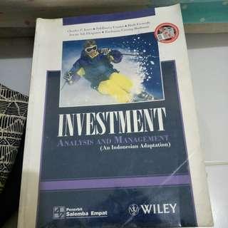 Buku Analis dan manajemen investment