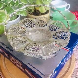 OFFER : Vintage Anne Silver Plated Petite Cake Stand
