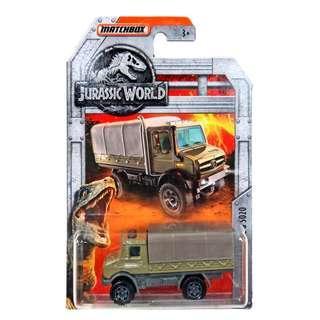 Jurassic World Matchbox Mercedes-Benz Unimog U 5020 Diecast Vehicle