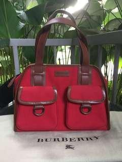 Auth Burberry tote