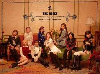 【Preorder】TWICE - 2019 SEASON'S GREETINGS 'THE ROSES'