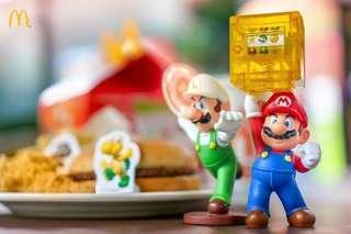Mario Bross & Luigi Happy Meal MCD