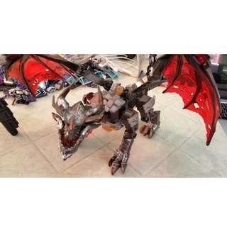 Mega Bloks Warcraft's Deathwing (Incomplete)
