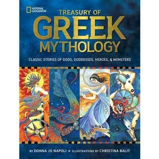 🚚 Treasury of Greek Mythology: Classic Stories of Gods, Goddesses, Heroes & Monsters