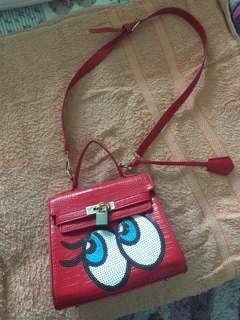 Jeling Jeling red Handbag