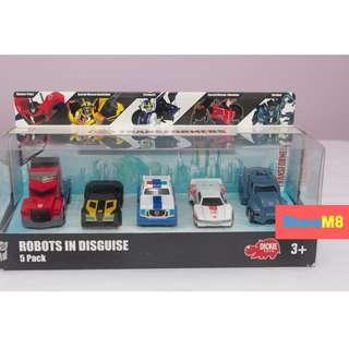 BRANDED - Transformers Robots In Disguise 5 Pack Die Cast