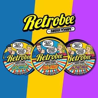 CHEAPEST IN SG[RETROBEE POMADE WATERBASED THREE SCENT CHOICE]
