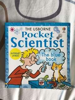 The Usborne : Pocket Scientist - The Blue Book (Internet Linked) by Susan Mayes