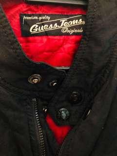 Pre❤️ Black Guess Jeans Bomber