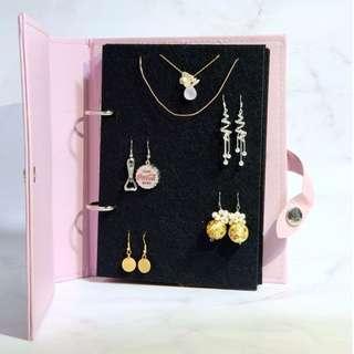 Jewellery Storage Book