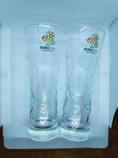 Carlsberg EURO 2012 Pint Glass Limited Edition (2 glasses in a set)