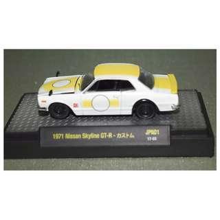 M2 Machines 1:64 Auto-Japan Series 1 1971 Nissan Skyline GT-R 1:64 Diecast Car