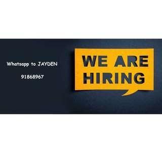 Retail assistant !!! | 2-3 months | $8-$9 per hour
