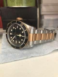 Tudor S&G Black Bay